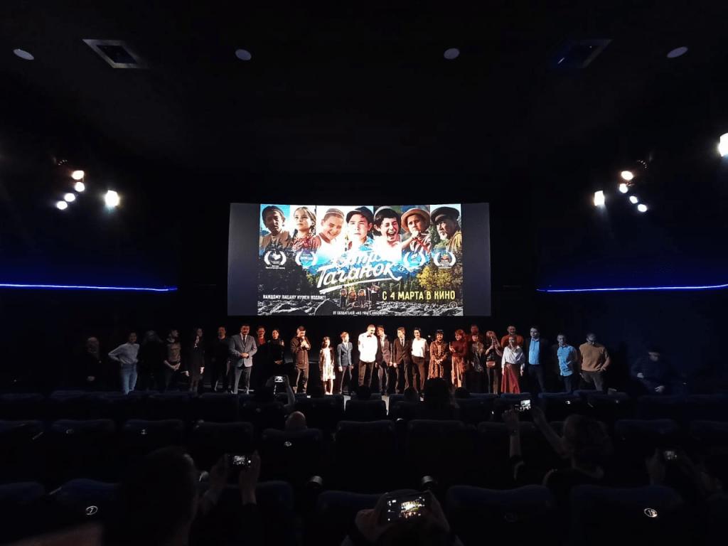 В кинотеатре «Родина» прошёл предпремьерный показ фильма «Отряд Таганок»